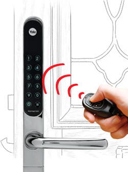 Wirral locksmiths can arrange for your latest security feature - the yale key free