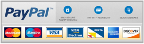 Paypal and Major debit cards accepted are accepted by wirral locksmiths
