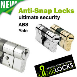 Here at Locksmiths Wirral we can fit new anti-snap cylinders tou your doors so that you have the ultimate security and peace of mind